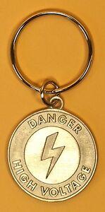 lineman gifts keychain high voltage