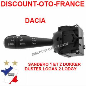 Dacia-Dokker-Lodgy-Logan-II-Sandero-COMMODO-LEVIER-DE-COMMANDE-PHARE-CLIGNOTANT