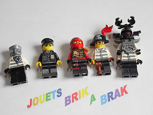 Lego minifigs figurine personnage ninjago choose model - Personnage ninjago lego ...