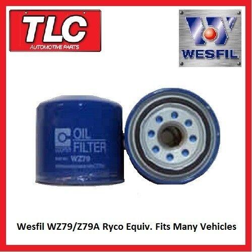 Wesfil WZ79 Z79A Ryco Equiv. Fits Many Vehicles ******FREE POSTAGE******