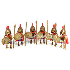 Playmobil 6x Greek Soldiers Army Ancient Greece Hoplite Spartans Sparta New