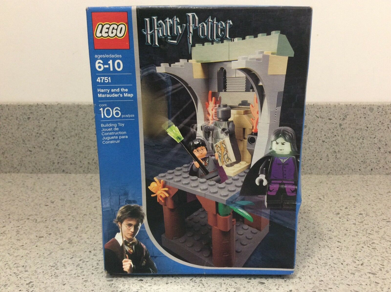 Lego Harry Potter  4751 Les maraudeurs Carte-Brand New & Sealed