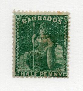 Barbados-SG-65-MH-wmk-small-star-Lot-1220803
