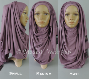 Premium-Cotton-Jersey-Size-Small-Medium-Maxi-Hijab-Scarf-Muslim-Headwear