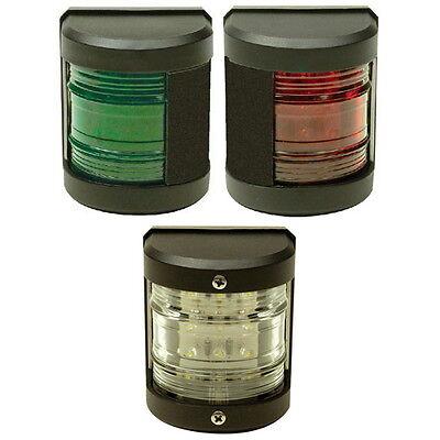 51215 BOAT LED NAVIGATION SIDE LIGHTS RED//GREEN SIDE MOUNT PAIR