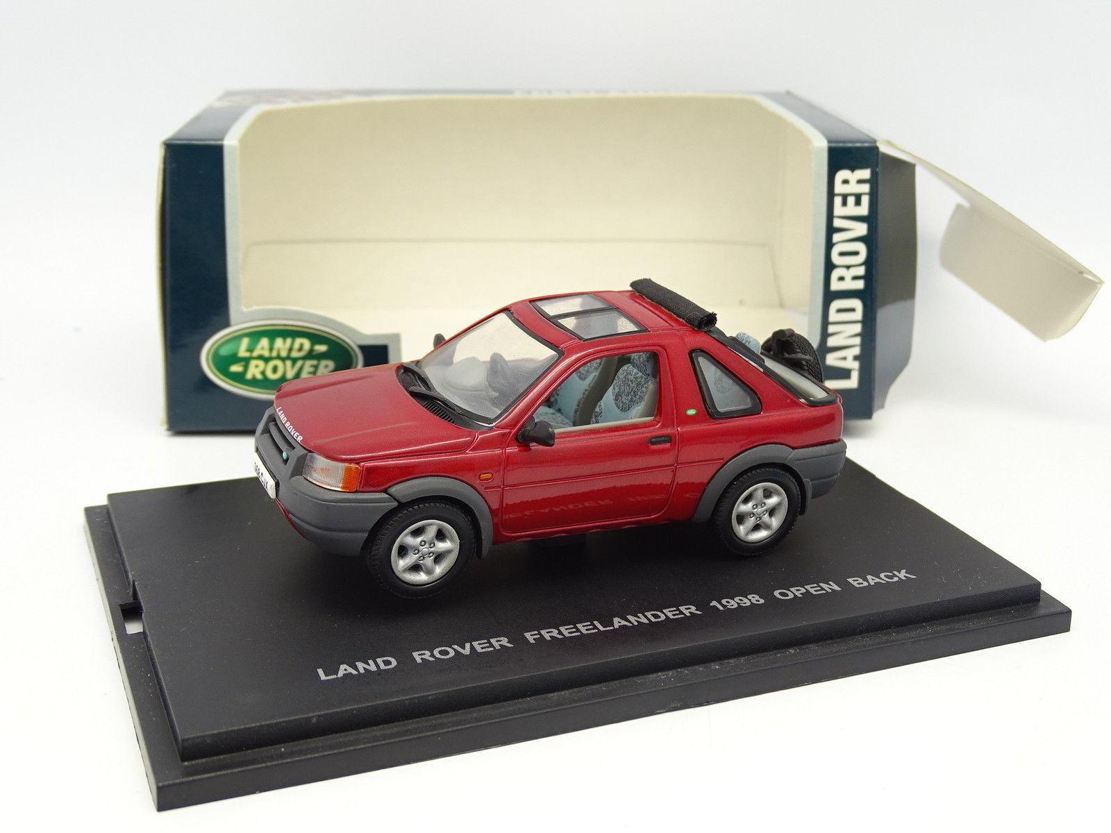 Uh Uh Uh 1 43 - Land Rover Freelander 1998 red 8fd620