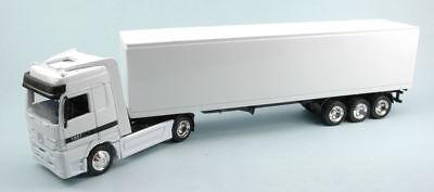 Mercedes Container White Camion Truck 1:43 Model New Ray Rafforzare L'Intero Sistema E Rafforzarlo