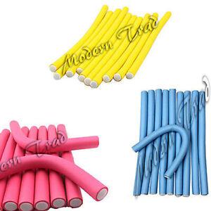 Soft-Bendy-Twist-Hair-Rollers-Foam-Curlers-Benders-10-20-30-40-50pcs