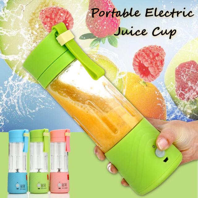 USB Mini Electric Fruit Juicer Handheld Smoothie Maker Blender Juice Cup   US