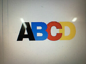 Coroplast Block Letters Numbers Choose Size Color Make