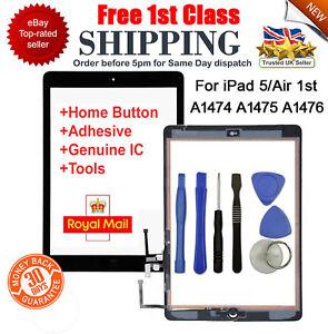 Para-Ipad-5-Air-1-A1474-A1475-A1476-Negro-Digitalizador-con-Pantalla-Tactil-de-Repuesto-Herramienta