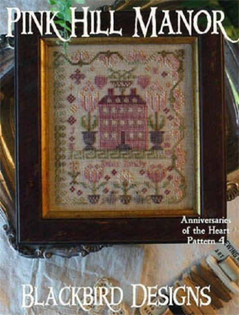 Pink Hill Manor - Anniversaries of the Heart Pattern 4 - Blackbird Designs New