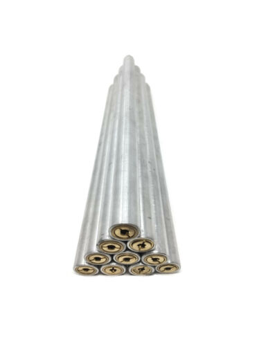 New 10 Pack Aluminum Paver Lawn Pipe Tube Pool Deck Brass Anchor For Pool Cover