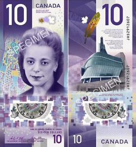 Vertical-canada-bank-note-2018-10-Dollars-Polymer-with-Viola-Desmond