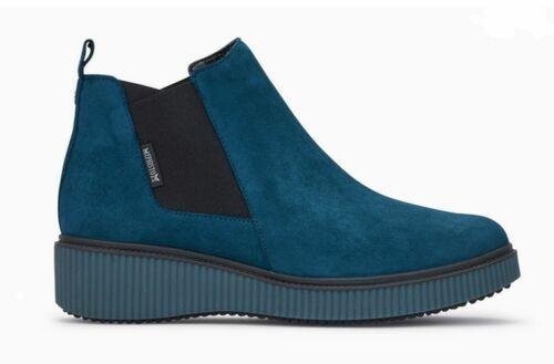 Mephisto Chelsea Boot Emie blue oil