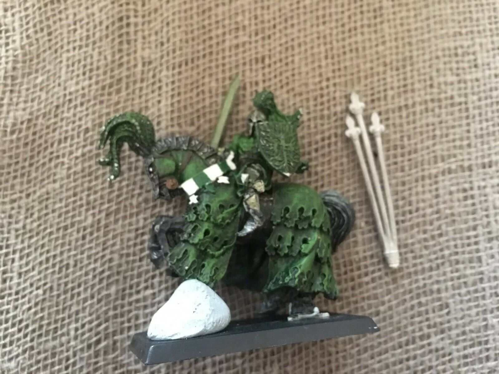 Bretonnia Grün Knight Metal Sixth Edition OOP