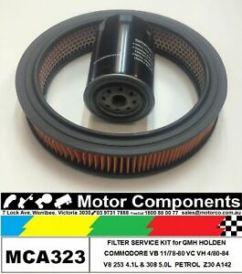 FILTER-SERVICE-KIT-Oil-Air-Fuel-HOLDEN-COMMODORE-VB-VC-VH-Petrol-V8-4-1L-amp-5-0L