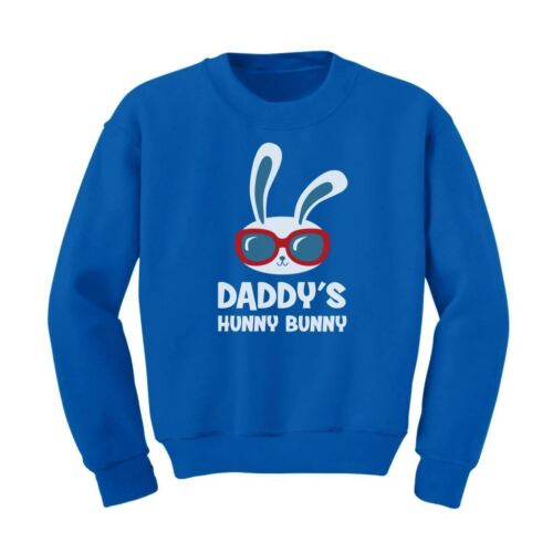 Daddy/'s Hunny Bunny Cute Easter Bunny Cool Kids Sweatshirt Gift Idea