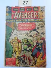 The Avengers #1 Sept 1963 Lot 27