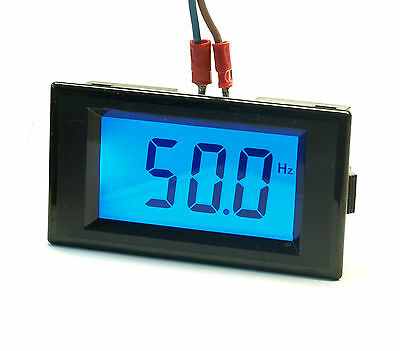 10Hz-199.9Hz Digital LCD Frequency Panel Meter Gauge AC 80-300V