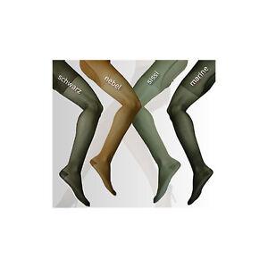1x-STUTZSTRUMPFHOSE-40-den-Gr-M-40-42-Taupe-Strumpfhose-Stutzhose-K12