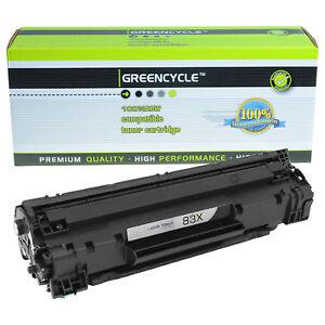 10PK CF283X 83X Black Toner Cartridge For HP LaserJet Pro M225dn M225dw M225rdn