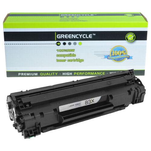 10PK CF283X 83X Black Toner Cartridge Compatible For HP LaserJet M201dw M225dn
