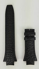 Breil Milano Eros BW0331 Watchband BW03 31 Black Genuine Leather Watch Bracelet