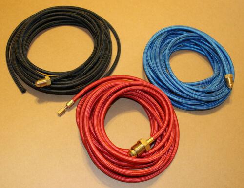 45V08R 45V04R 45V10R 30 foot braided Tig Welding hose combo