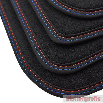 Mattenprofis Velour Fußmatten Doppelnaht für BMW 3er F31 Touring ab Bj.06//2012