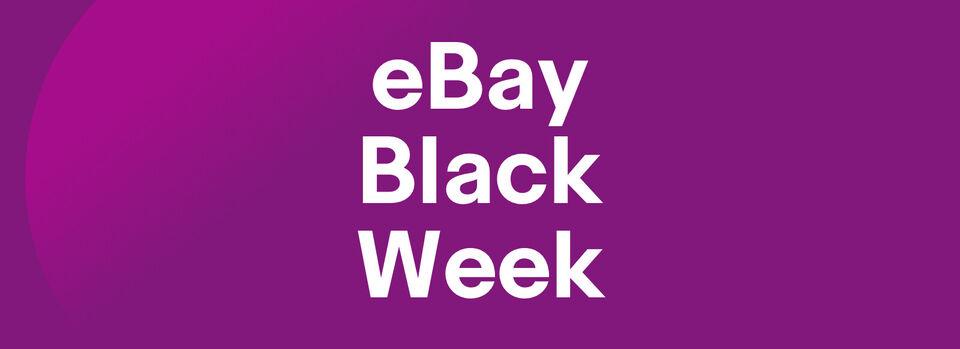 eBay Black Week ab dem 21.11. – Jetzt schon shoppen - eBay Black Week ab dem 21.11.