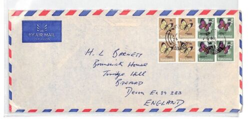 BT164 1970 Tanzania Commercial Air Mail Cover {samwells}PTS