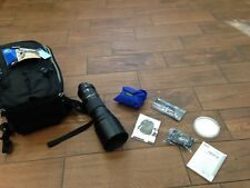 TAMRON ULTRASONIC SILENT DRIVE 150-600 MM LENS WITH BRAND NEW THINK TANK BACKPAC