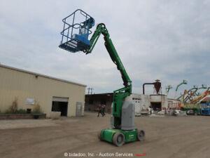 2013 Genie Z30/20N RJ 30' Electric Articulating Boom Lift Man Aerial bidadoo