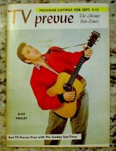 TV-Guide-1956-Elvis-Presley-Regional-TV-Prevue-EX-NM-COA-Extremely-Rare