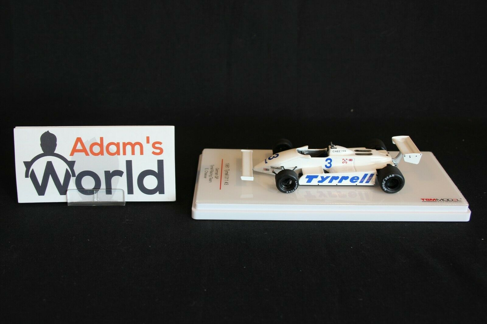 TSM Tyrrell Ford 011 1981 1 43  3 Eddie Cheever (USA) German GP (KL)