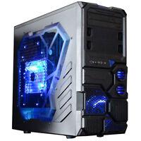 Amd Quad Core Gaming Desktop Fast Custom 4.2g 1tb 16gb Win10 Pc Computer System