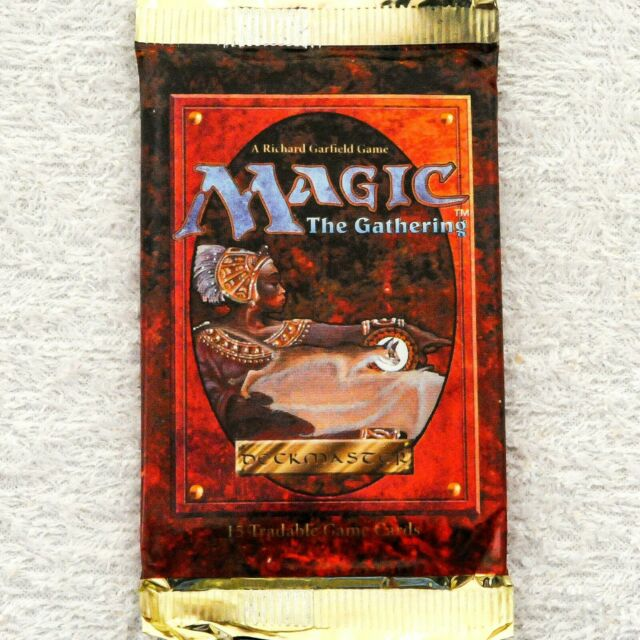 FACTORY SEALED BRAND NEW MAGIC MTG ABUGames ENGLISH 4th Edition Booster Pack