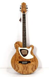 cutaway electric acoustic guitar thin body 39 built intuner buzzing ebay. Black Bedroom Furniture Sets. Home Design Ideas