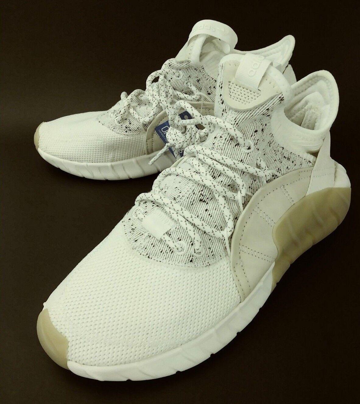 Adidas Mens shoes Sneakers US 6.5 White Athletic tubular rise primeknit New 2873