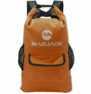 22L-Marjaqe-Beach-Boating-Trekking-Camping-Swimming-Waterproof-Dry-Bag-Orange