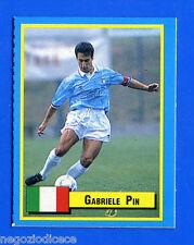TOP MICRO CARDS - Vallardi 1989 - Figurina-Sticker - PIN - LAZIO