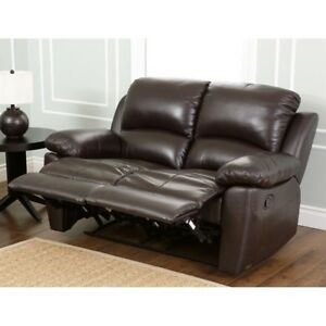 Admirable Abbyson Living Westwood Leather Reclining Loveseat Unemploymentrelief Wooden Chair Designs For Living Room Unemploymentrelieforg