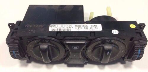 Mercedes Panneau Installation climatisation w210 w202 a2108302885 Élément de commande 2108302885