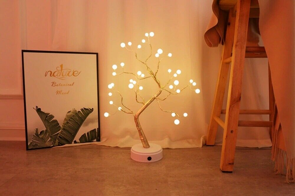 tree shaped light table lamp