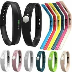 Silicone-Wrist-Band-Strap-Bracelet-Clasp-Belt-For-Fitbit-Flex-2-Activity-Tracker