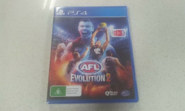 AFL Evolution 2 PS4 Game (NEW & SEALED)
