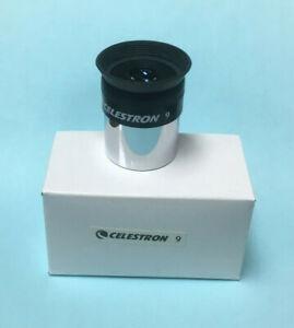 Celestron 9mm Light Weight Telescope Eyepiece ~ NEW