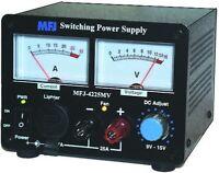 Mfj-4225mv Switching Power Supply 13.8v 25a Authorized Mfj Dealer Free Shipping