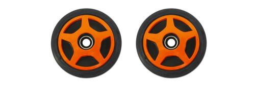 Outside Rear Orange Idler Wheels Kit for ARCTIC CAT Wildcat 650 700 1988-1996